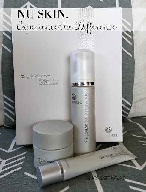 Experience the Difference with NU SKIN.